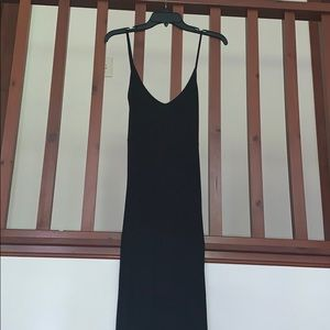 Heart and Hips black dress with open back